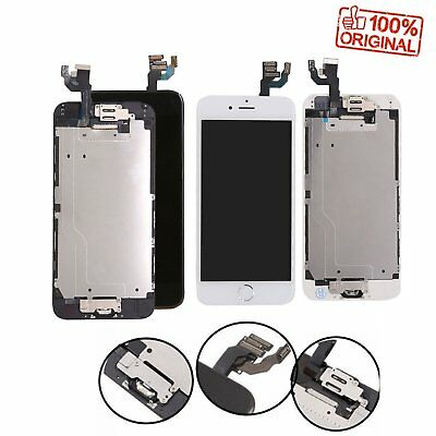 For iPhone 6 LCD Touch Display Screen Digitizer Replacement Home Button Camera