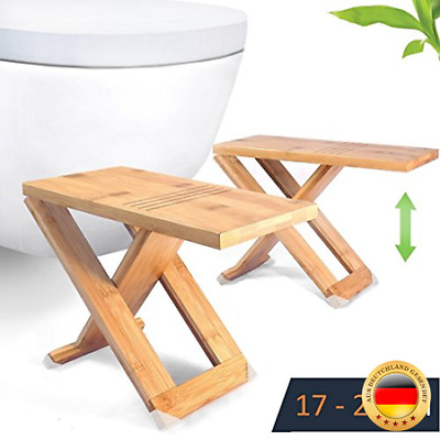 RELAXX SQUATTY TOILETTENHOCKER WC Hocker - verstellbar bis 17, 19 ...