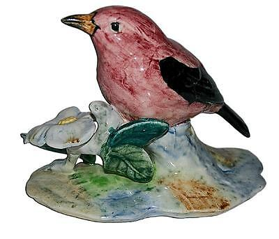 """Stangl #3749 Red Tanager Bird Figure - Fairly Large 6 1/4"""" W."""