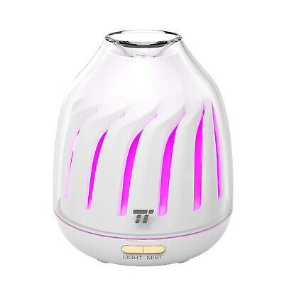 Essential Oil Diffuser Humidifier Air Aromatherapy LED Lights Ultrasonic Aroma