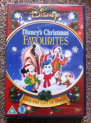 Disney Christmas Favourites DVD - Brand New And Sealed