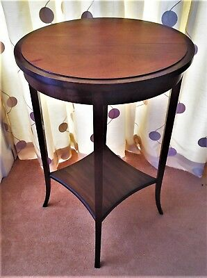 Edwardian period round hall table (ref 18.4.010)