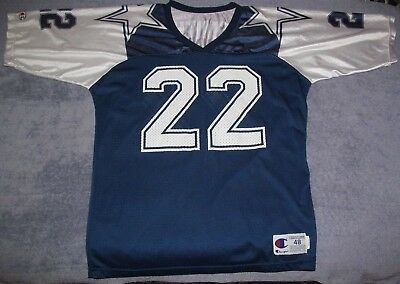 6e8aa70f2 EMMITT SMITH DALLAS Cowboys Thanksgiving Day Champion Jersey Men 48 ...