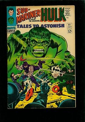 Tales to Astonish 81 FN/VF 7.0