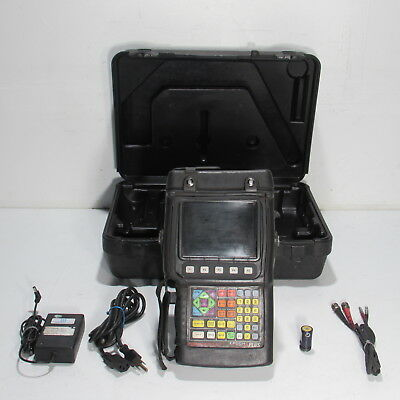 Olympus Panametrics Ndt Epoch 4 Plus Ultrasonic Flaw Detector W/ Accessories