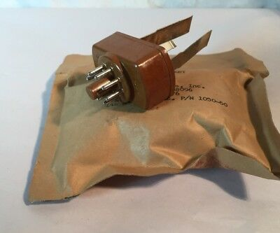 NOS vtg Hickok Military Adapter Tube Socket Tester JAN USN Army 5935-555  1966