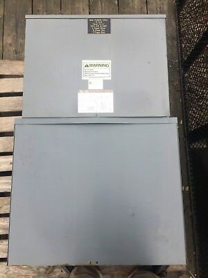 Square D MPZ15T2F Mini Power Zone Transformer 15 KVA 480V To 208Y/120 3P Used