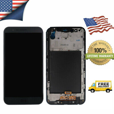 Replacement For LG Stylo 3 Plus MP450 TP450 LCD Screen Touch Digitizer + Frame