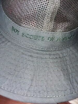 Boy Scouts of America Expedition Hat Olive Green , Size XXL (Has Mesh in center)