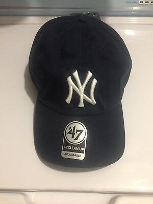 0933a9248c506b NEW YORK YANKEES MLB '47 Clean Up Adjustable Hat, Adult Navy ...