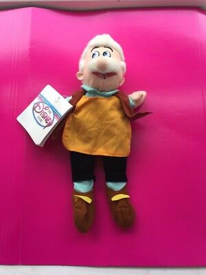 Disney Store Geppetto Pinocchio Dad Plush Soft Toy Teddy with tags