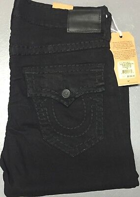 *nwt* True Religion Men's Jeans Straight Ricky W/ Flap Brand New Free Shipping