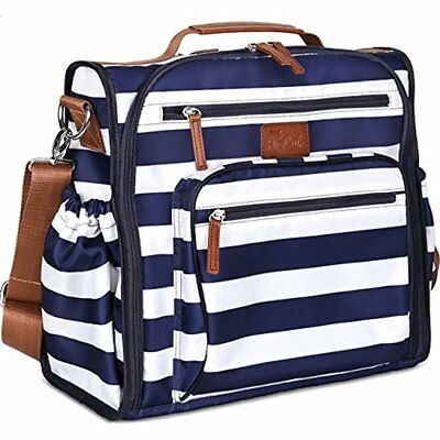 New Diaper Bags Bag Backpack By Convertible W/ Cute Designer Baby Changing Pad
