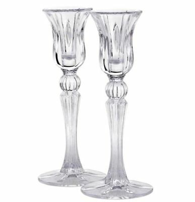 BRAND NEW! Marquis by Waterford Sheridan 8 inch Candlestick Pair