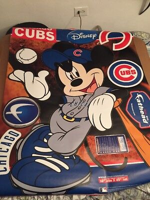 "FATHEAD Mickey Mouse Chicago Cubs  38"" Wide X 45"" Tall"