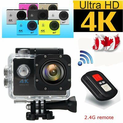 4K Wifi 1080P Ultra HD Sport Action Camera DVR DV Camcorder Waterproof