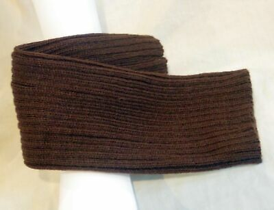 LEG WARMERS,  Chocolate Brown, Ribbed design, yoga exercise, stock on hand