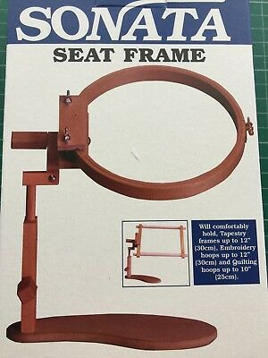 Sonata Seat Frame A versatile, Seat Frame Ideal for Embroidery and Cross stitch!