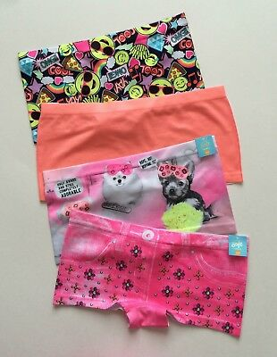 Justice Girls Shortie Panties Size 16/18 NWT