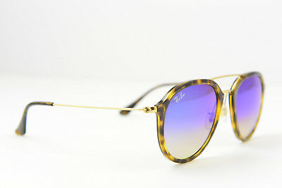 a78a872400e77 RAY-BAN SUNGLASSES RB4253  8B 53-21 145 3N Havana Brown Blue Purple ...