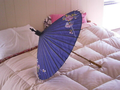 VERY RARE! Old antique ORIGINAL burmese Burma parasol! From the early 1900's