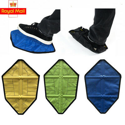 Step In Sock Cover Waterproof Reusable Fast Hand-Free Boot Shoe Sock Covers UK
