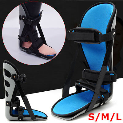 Night Splint Plantar Fasciitis Brace Support Foot Injury Cramps Protector S/M/L