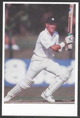 Alec Stewart (Surrey & England) Tccb Official Cricket Postcard