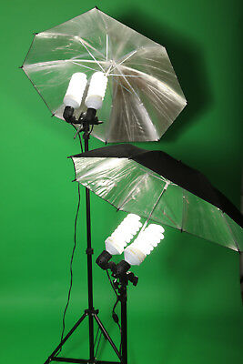 Professional 4x85w 5500k Daylight Bulbs Photography Studio Light