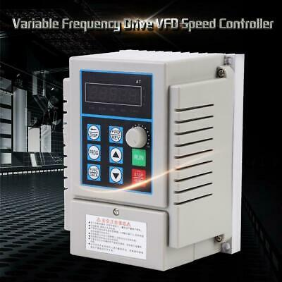 AC220V Single-phase Variable Frequency Drive VFD Speed Controller 0.45kW Motor