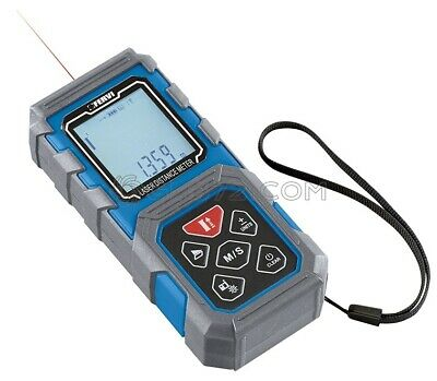 HANDHELD DIGITAL LASER DISTANCE METER MEASURE TAPE 80m/262ft FERVI ML80A