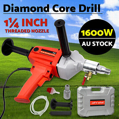 PPAP Powerful 1600W Diamond Core Drill Concrete Hand-Held Machine Wet Drilling