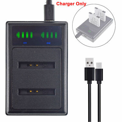 NB-11L Battery DUAL USB CHARGER For Canon IXUS 285HS 180 175 PowerShot N2