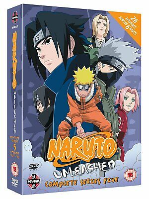 Naruto Unleashed - Complete Series 5 (DVD)