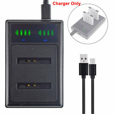 DUAL USB Battery Charger NB-11L For Canon IXUS 175 177 180 182 SX410 IS SX420 IS