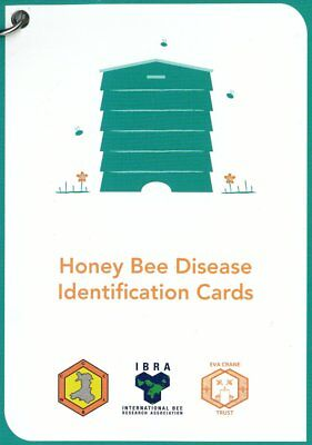 Beekeeping Honey Bee Disease Identification Cards FREE P&P