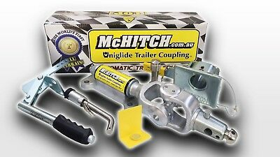 McHitch 3.5T AUEF35K Automatic Coupling Caravan Camper Trailer Easy Fitment