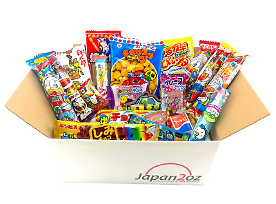 NEW! 20 PIECE JAPANESE CANDY SET #8 April '18 Sweets Gum Snack Box FREE AIRMAIL