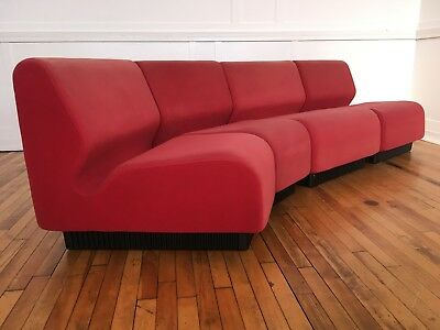 Vintage 1970 S 4 Piece Modular Sofa By Don Chadwick For Herman