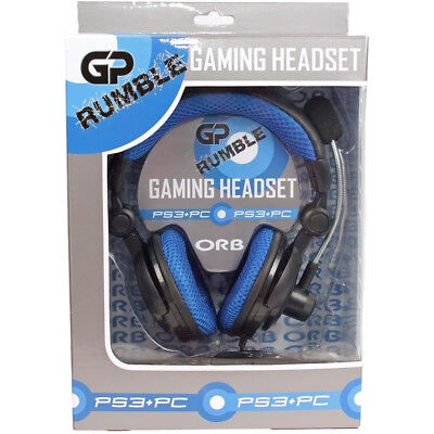 ORB GP Rumble Gaming Headset for PS3 / PC