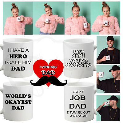 Fathers Day Mug Special Love Tea Coffee Cup Design Present Gift Surprise For Dad