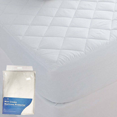 Gaveno Cavalia Fitted Non Woven Quilted Mattress And Pillow Protector, Topper