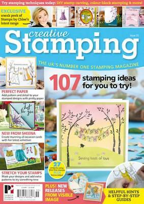 Creative Stamping Magazine Issue 55 :Bright & Breezy Stamps, Papers & Buttons
