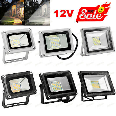 12V LED Floodlight 10W 20W 30W Outdoor Garden Security Flood Lamp Cool/warm IP65