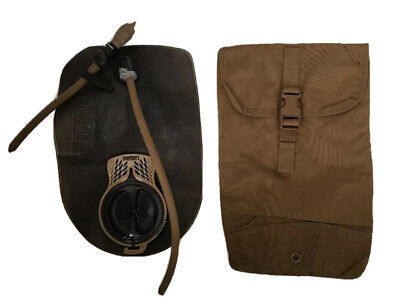 ** NEW ** USMC Coyote FILBE Hydration Pouch Eagle Ind & 3L Camelbak Bladder Tan