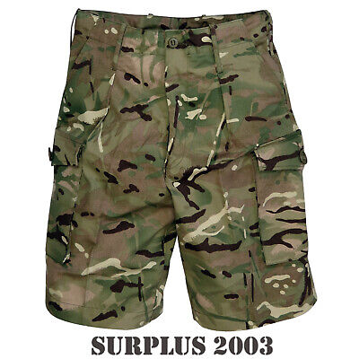 Mtp Mens Shorts Trousers Camo Combat Military Genuine British Army Surplus Issue