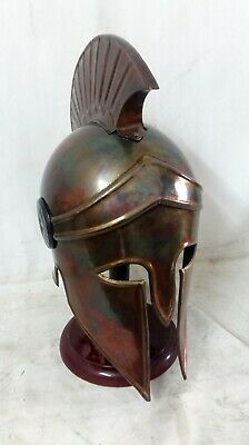 Ancient Greek Helmet Corinthian Helmet Roman Spartan Ancient Greece Costume Gift