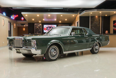 "Lincoln Continental Mark III Lincoln Mark III #s Matching 460ci, C6 Automatic, Ford 9"", Factory A/C, PS, PB!"