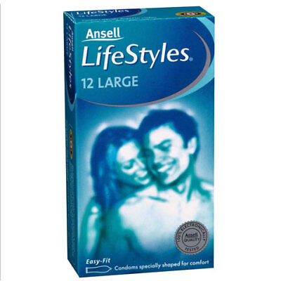 Ansell Lifestyles Large 12 Pack