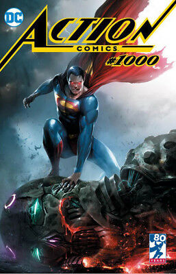 Action Comics 1000 DC Francesco Mattina Trade Variant LTD 3000 (04/18/2018)